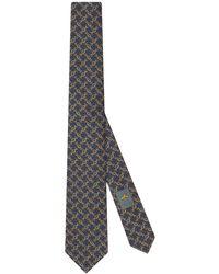 Gucci Printed GG Motif Tie - Multicolour