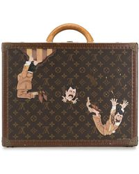 Louis Vuitton Pre-owned One Of A Kind Cotteville 45 Painted By Artist Mike Frederiqo - Multicolour