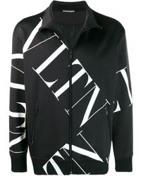 Valentino Sweater Met Logoprint - Zwart