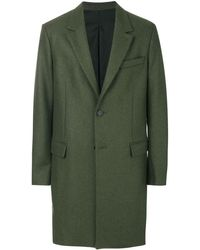 AMI Two Button Coat - Green