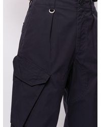 Sophnet Pantalon droit à poches cargo - Bleu