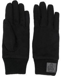 Karl Lagerfeld K/ikonik ニット手袋 - ブラック