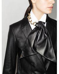 Givenchy Цепочка На Шею С Бантом - Черный