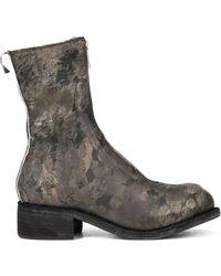 Guidi - フロントジップ ブーツ - Lyst