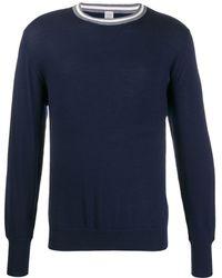 Eleventy ストライプ セーター - ブルー