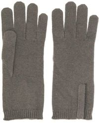 Brunello Cucinelli Fine Knit Gloves - Gray