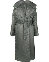 Norma Kamali - Long Sleeping Bag Coat - Lyst