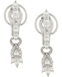 YEPREM Drop Earrings - Metallic
