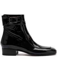 Saint Laurent マイルズ ブーツ - ブラック