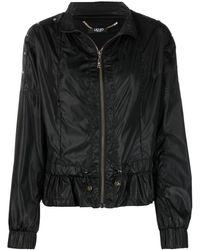 Liu Jo ラッフルヘム ジャケット - ブラック