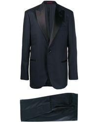 Brunello Cucinelli ツーピース スーツ - ブルー