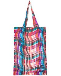 Pleats Please Issey Miyake - Pleated Shopper Tote - Lyst