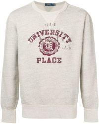 Polo Ralph Lauren - Collegiate-inspired Sweatshirt - Lyst