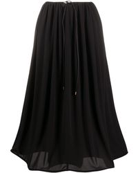 Maison Rabih Kayrouz Aライン スカート - ブラック