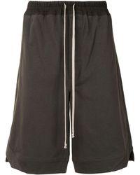 Rick Owens - Drawstring Waist Shorts - Lyst