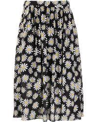 Boutique Moschino プリント スカート - ブラック