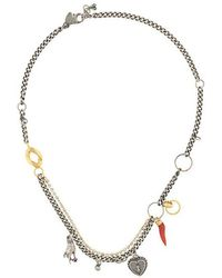 Iosselliani - Puro Heart Necklace - Lyst