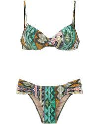 Lygia & Nanny Bikini Vitória estampado - Multicolor