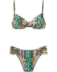 Lygia & Nanny Vitória Printed Bikini Set - Multicolour