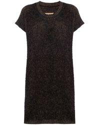 Uma Wang ウール ロング セーター - ブラック