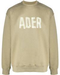 ADER error ロゴ スウェットシャツ - マルチカラー