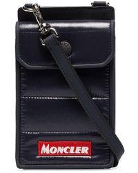 Moncler X Porter Blue Nylon Mini Bag