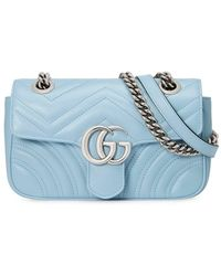Gucci - Borsa GG Marmont matelassé mini - Lyst