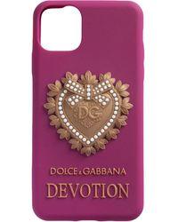 Dolce & Gabbana Cover per iPhone 11 Pro Devotion - Multicolore