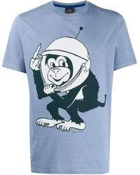 PS by Paul Smith - Space Monkey Tシャツ - Lyst