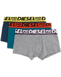 DIESEL 3er-Set Shorts - Blau