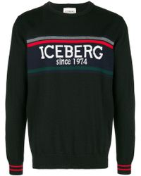 Iceberg - Logo Lightweight Jumper - Lyst