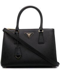 Prada Galleria Tote Bag - Zwart
