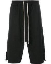 Rick Owens - Drop-crotch Shorts - Lyst