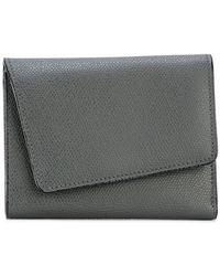 Valextra | Asymmetric Flap Wallet | Lyst