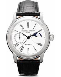 Frederique Constant Наручные Часы Classic Moonphase Manufacture 42 Мм - Металлик