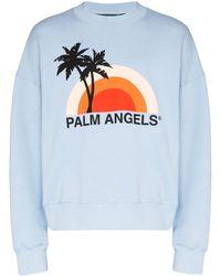 Palm Angels - グラフィック プルオーバー - Lyst
