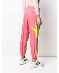 adidas グラフィック トラックパンツ - ピンク
