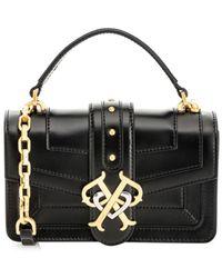 Pinko - Мини-сумка Через Плечо С Логотипом Double P - Lyst