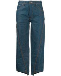 Lanvin クロップドジーンズ - ブルー
