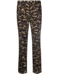 MICHAEL Michael Kors Pantalones con estampado militar - Verde