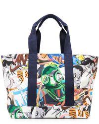 Orlebar Brown Diving Print Tote Bag - Multicolor