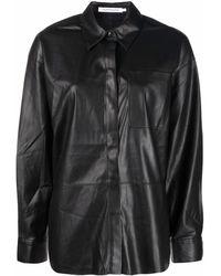 Calvin Klein チェストポケット シャツ - ブラック