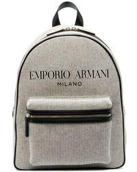 Emporio Armani ロゴ バックパック - マルチカラー