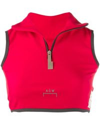 A_COLD_WALL* Vest Met Rits - Rood