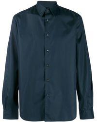 Aspesi Slim-fit Shirt - Blue