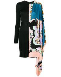 Emilio Pucci - Asymmetric Short Dress - Lyst
