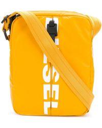 DIESEL - Logo Cross-body Bag - Lyst