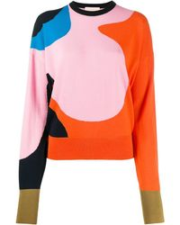 ROKSANDA Abstract Print Jumper - Orange