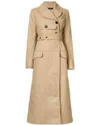 Ellery Overload Lightly Trench Coat - Natural