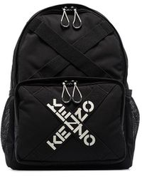 KENZO Sport Logo バックパック - ブラック
